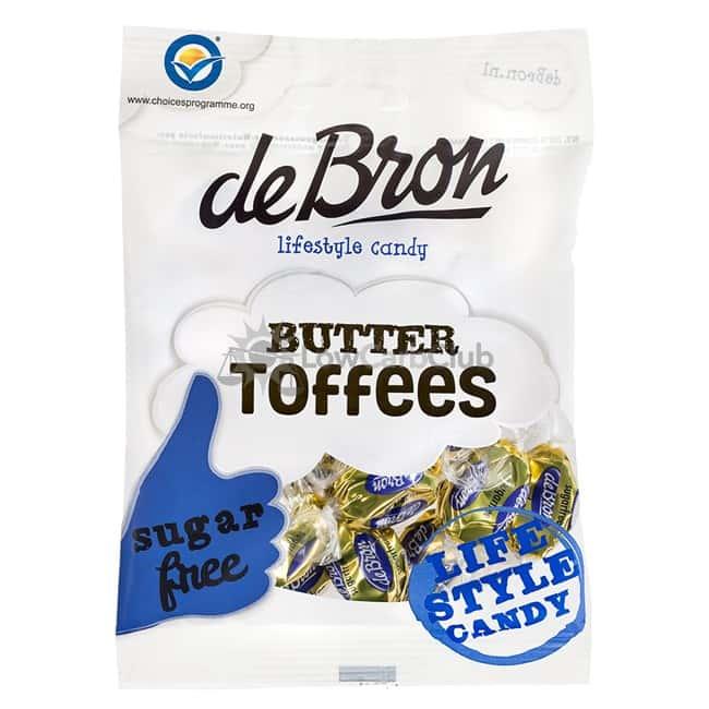 De Bron Suikervrije Butter Toffees