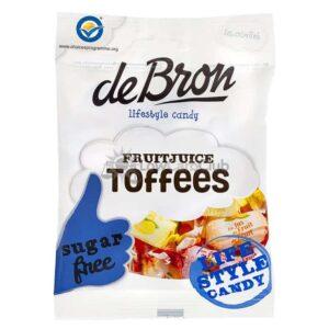 De Bron Suikervrije Fruitjuice Toffees