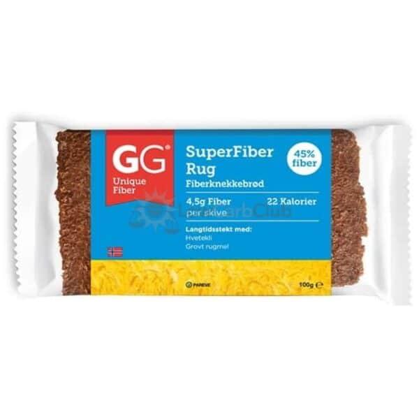 Gg Bran Fiber Crispbread Original No