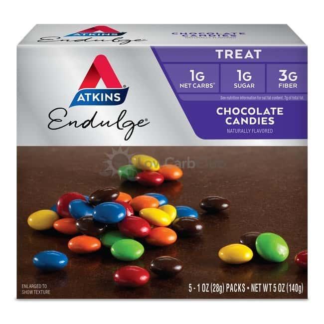 Atkins Usa Endulge Chocolate Candies Doos