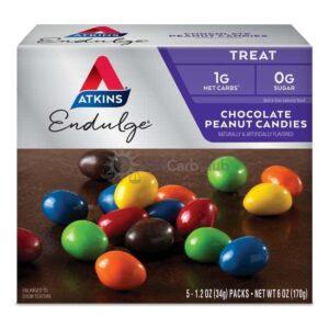 Atkins Usa Endulge Chocolate Peanut Candies Doos