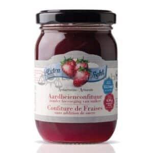 Suikervrije Jam Aardbeien Extra Light Rabeko