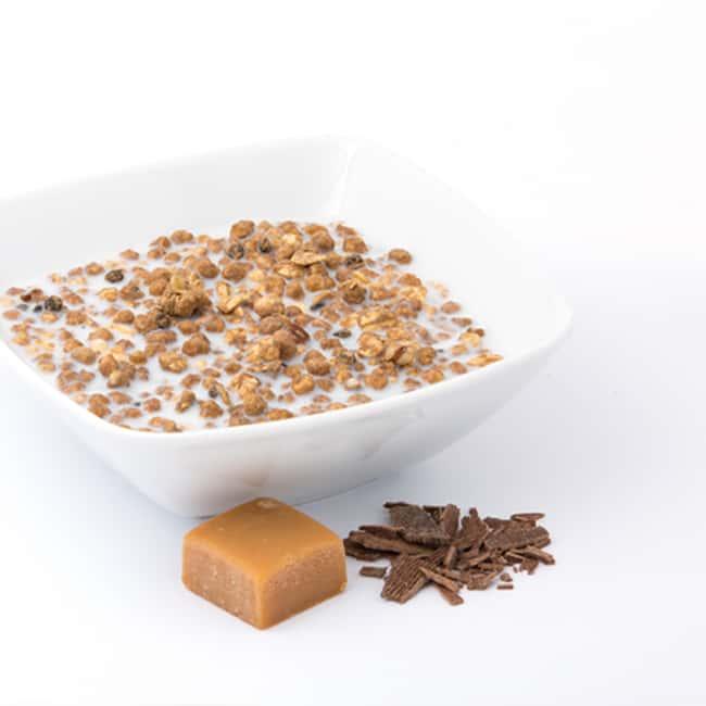 Delinutri Koolhydraatarme Muesli Chocolade Caramel