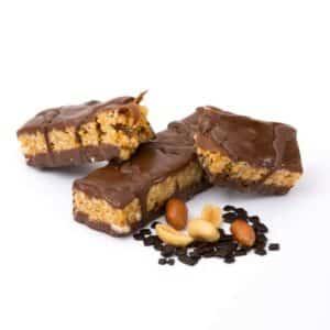 Delinutri Koolhydraatarme Reep Chocolade Pinda Crunch