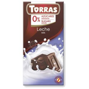 Suikervrije Chocoladetablet Melk Torras