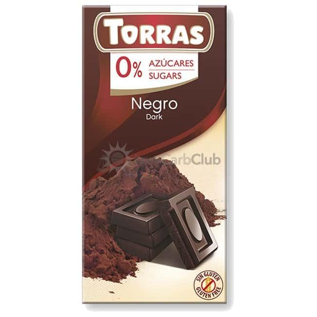 Suikervrije Chocoladetablet Puur Torras