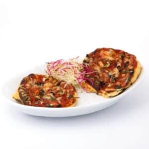 Delinutri Koolhydraatarme Maaltijd Pizzabodem Met Saus
