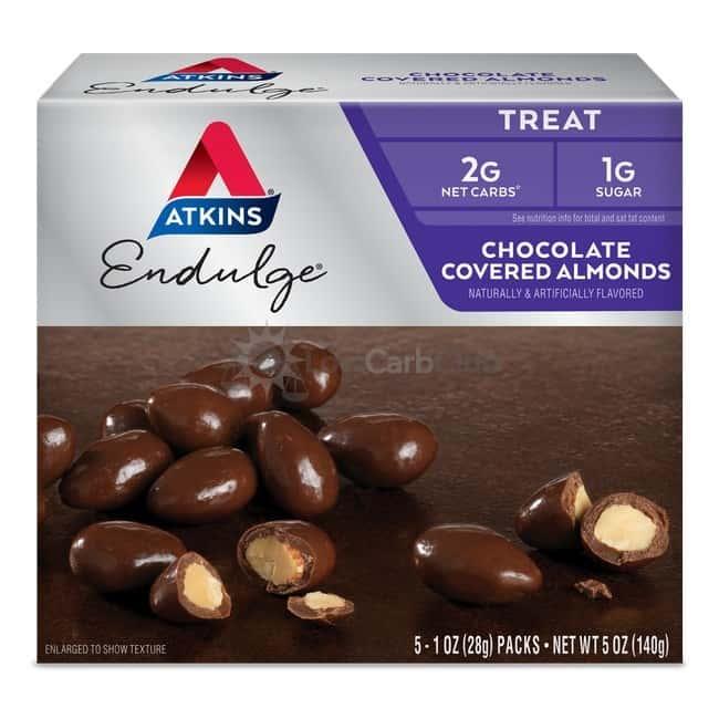 Atkins Usa Endulge Chocolate Covered Almonds Doos