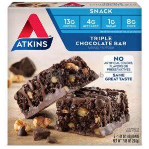 Atkins Usa Snack Triple Chocolate Doos