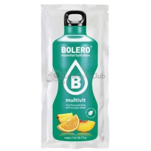 Bolero Multivit suikervrije limonade Zakje Lowcarbclub