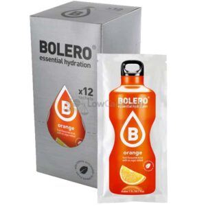 Bolero Orange suikervrije limonade Doos Lowcarbclub