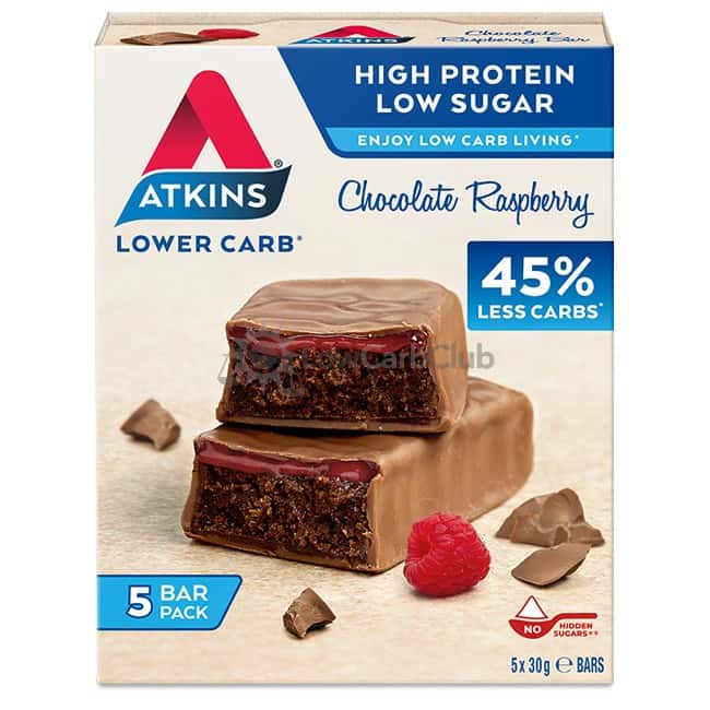 Atkins Reep Chocolate Raspberry Doosje