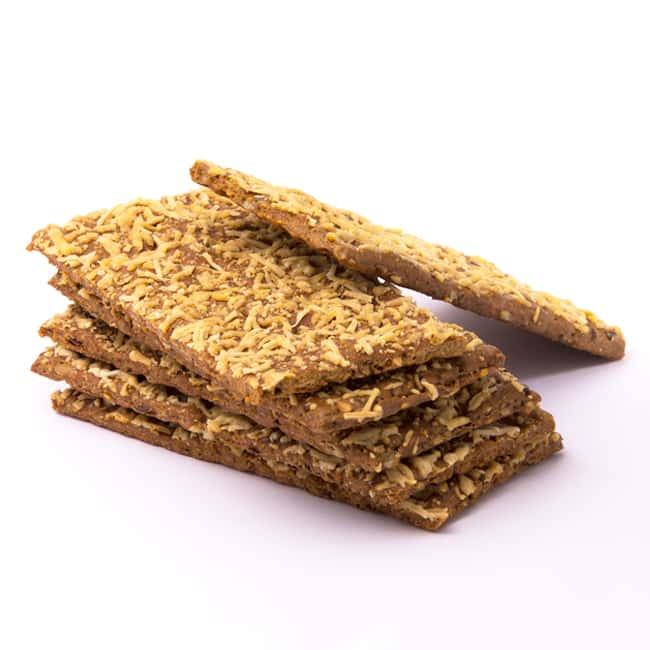 Delinutri Koolhydraatarme Crackers Kaas