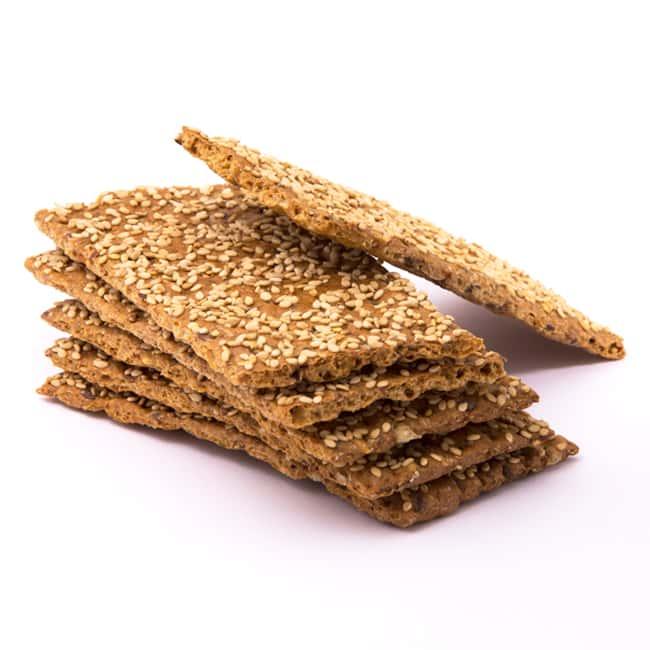 Delinutri Koolhydraatarme Crackers Sesam