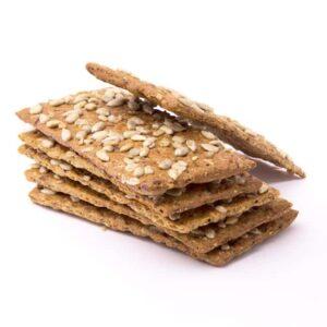 Delinutri Koolhydraatarme Crackers Zonnebloempit