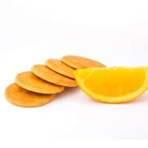 Delinutri Koolhydraatarme Koekjes Sinaasappel