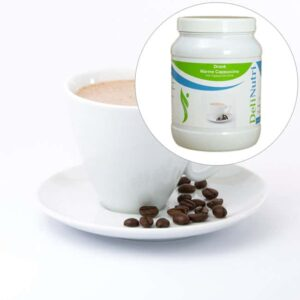 Delinutri Koolhydraatarme Warme Cappuccino Voordeelpot1
