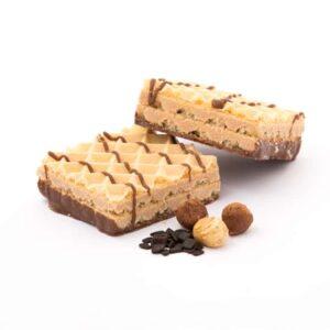 Delinutri Koolhydraatarme Wafels Chocolade Hazelnoot