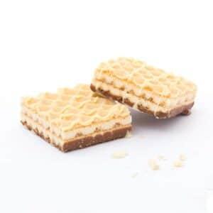 Delinutri Koolhydraatarme Wafels Witte Chocolade