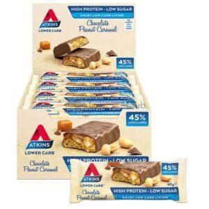 Atkins Repen Chocolate Peanut Caramel Doos