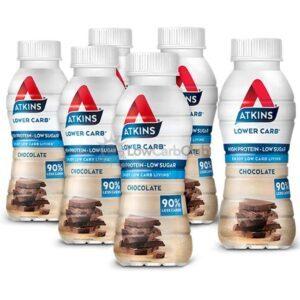 Atkins Shakes Chocolate Rtd 6 Stuks
