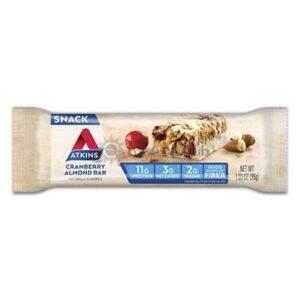 Atkins Usa Snack Cranberry Almond Reep