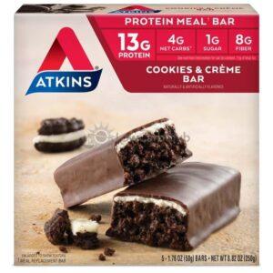 Atkins Usa Meal Cookies N Creme Doos