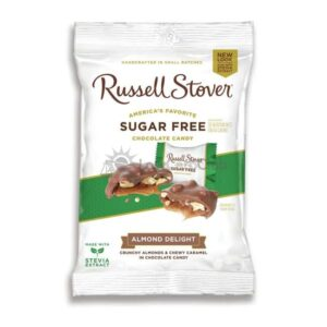 Suikervrije Chocolade Almond Delights Russell Stover