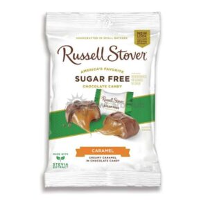 Suikervrije Chocolade Butter Cream Caramels Russell Stover