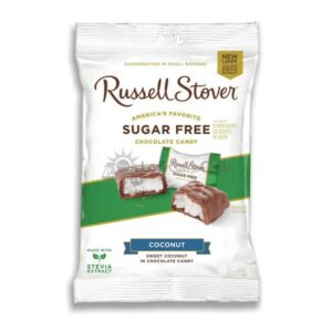 Suikervrije Chocolade Chocolate Covered Coconut Russell Stover