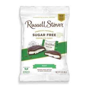 Suikervrije Chocolade Mint Patties Russell Stover