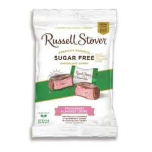 Suikervrije Chocolade Strawberry Cream Russell Stover