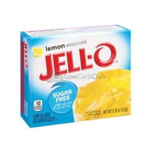 Jello Gelatinepoeder Suikervrij Lemon