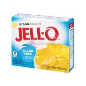 Jello Gelatinepoeder Suikervrij Lemon2