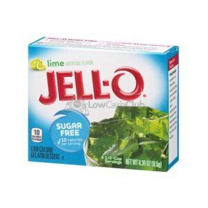Jello Gelatinepoeder Suikervrij Lime2