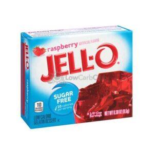 Jello Gelatinepoeder Suikervrij Raspberry