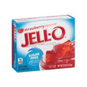 Jello Gelatinepoeder Suikervrij Strawberry