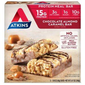 Atkins Usa Meal Chocolate Almond Caramel Doos