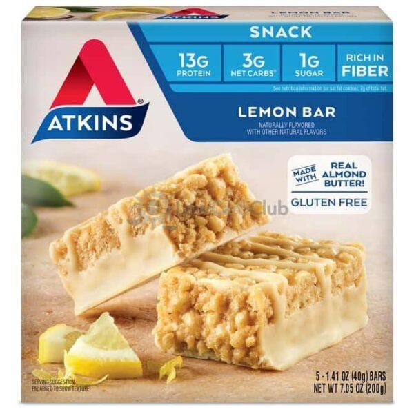 Atkins Usa Snack Lemon Doos