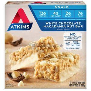 Atkins Usa Snack White Chocolate Macadamia Nut Doos