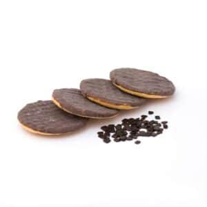 Delinutri Koolhydraatarme Koekjes Chocoladelaag
