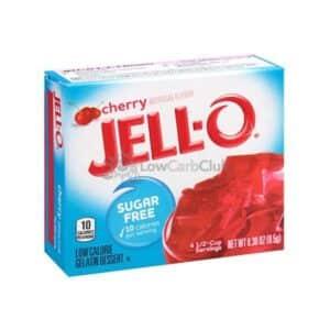 Jello Gelatinepoeder Suikervrij Cherry