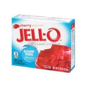 Jello Gelatinepoeder Suikervrij Cherry2