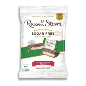 Suikervrije Chocolade Peanut Butter Crunch Russell Stover