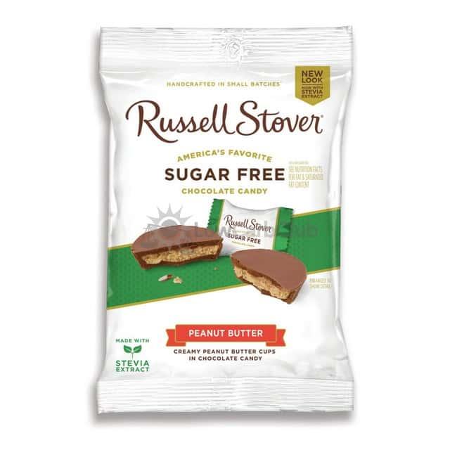 Suikervrije Chocolade Peanut Butter Russell Stover