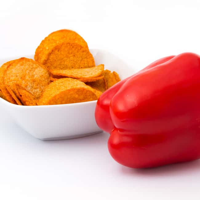 Delinutri Koolhydraatarme Chips Paprika