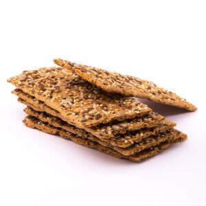Delinutri Koolhydraatarme Crackers Zadenmix