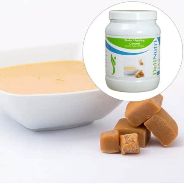 Delinutri Koolhydraatarme Pudding Caramel Voordeelpot