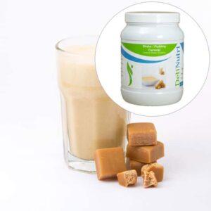 Delinutri Koolhydraatarme Shake Caramel Voordeelpot