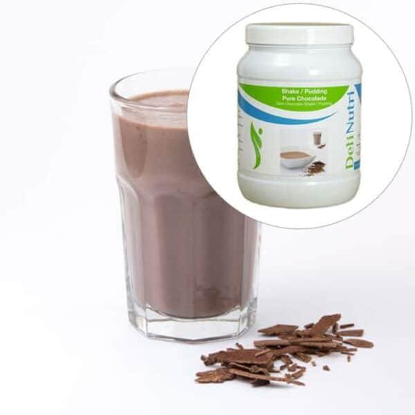 Delinutri Koolhydraatarme Shake Pure Chocolade Voordeelpot